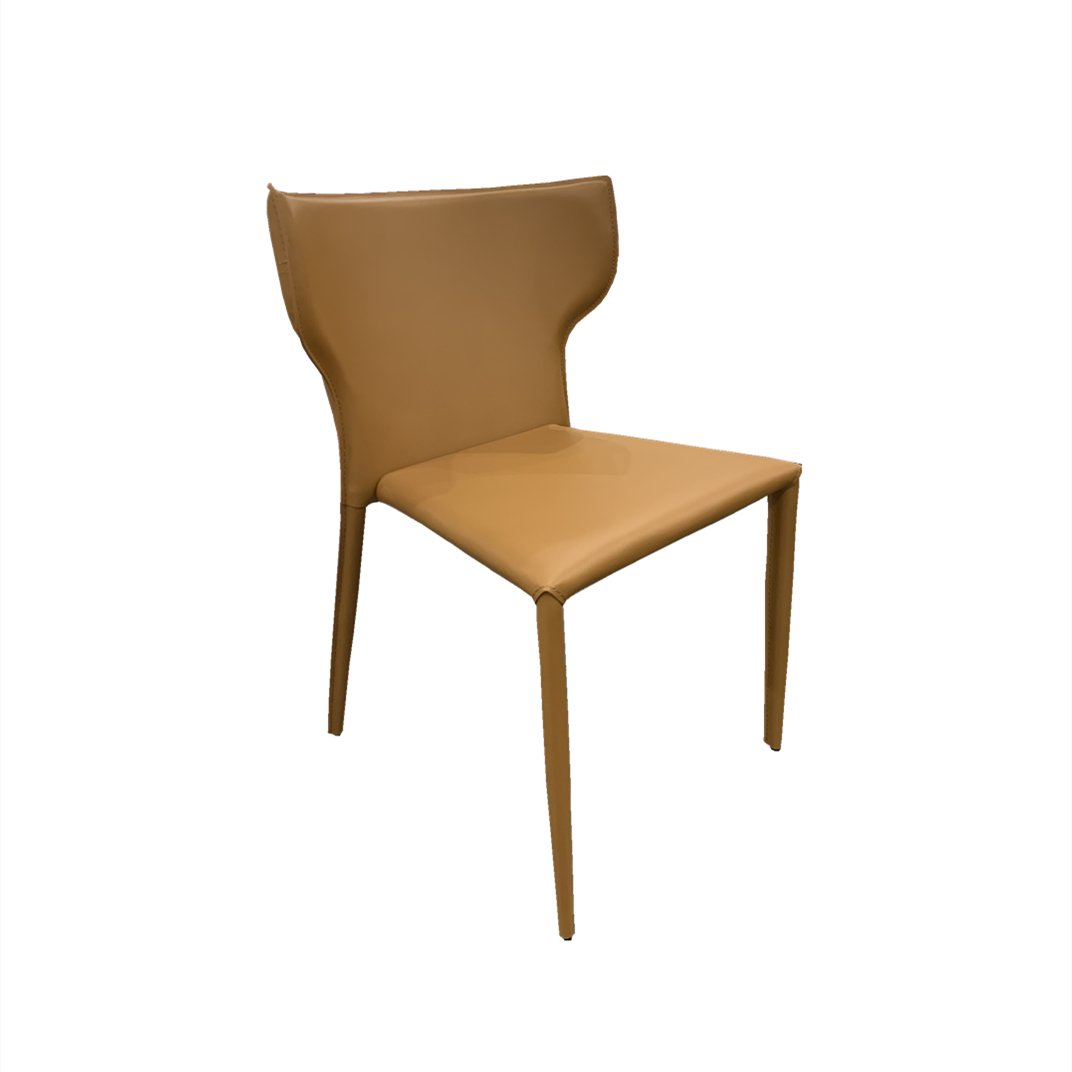 Simplife Greco Leather Dining Chair   Tan   Simplife