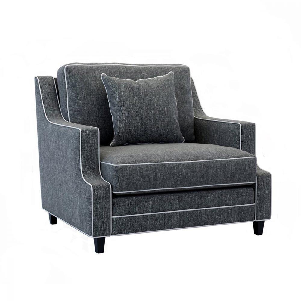 luna armchair wide - Simplife
