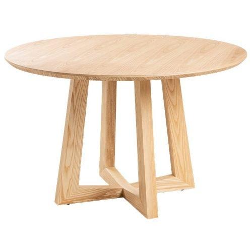 Simplife 120cm Sloan Natural Timber Dining Table
